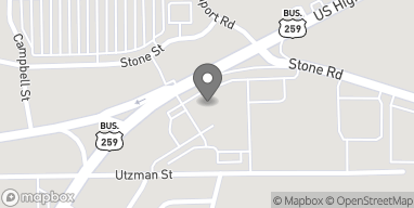 Map of 1214 North US Highway 259 in Kilgore