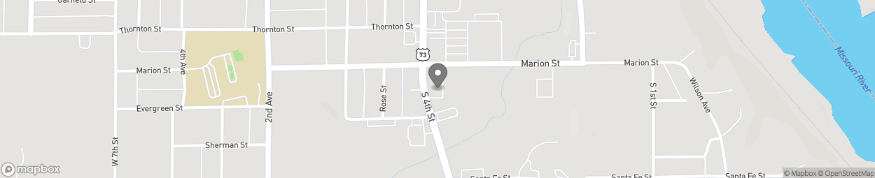 Carte de 2209 South 4th Street à Leavenworth