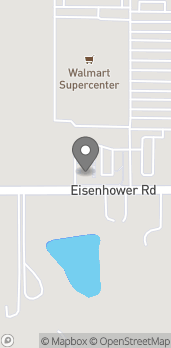 Mapa de 1140 Eisenhower Rd en Leavenworth