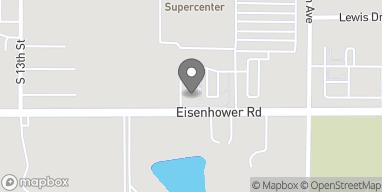 Map of 1140 Eisenhower Rd in Leavenworth