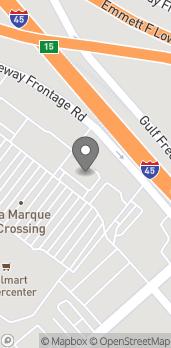 Mapa de 6408 Gulf Freeway South en La Marque