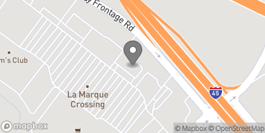 Mapa de 6408 Gulf Freeway South en La Marque