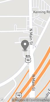 Mapa de 2123 Highway 90 en Crosby