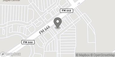 Mapa de 1660 FM 646 Rd W en Dickinson