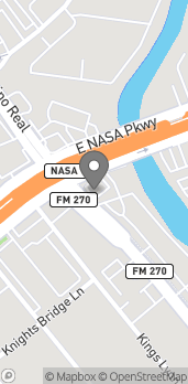 Mapa de 1052 East Nasa Pkwy en Houston