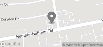 Map of 11105 FM 1960 E in Huffman