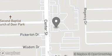 Mapa de 3811 Center Street en Deer Park