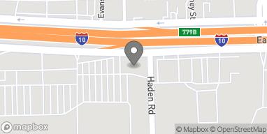 Mapa de 13630 East Freeway en Houston