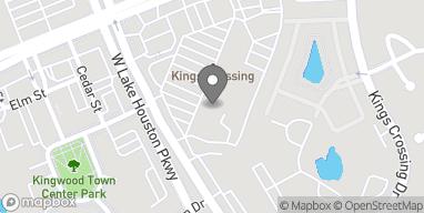 Map of 4536 Kingwood Dr in Kingwood