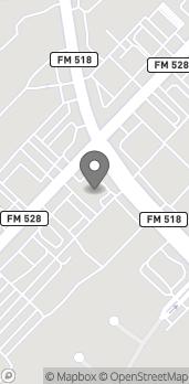 Mapa de 101 W Parkwood en Friendswood