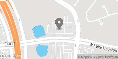 Mapa de 12661 W Lake Houston Pkwy en Houston