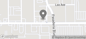Map of 929 E. Southmore in Pasadena