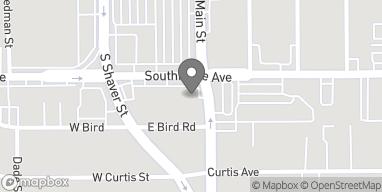 Mapa de 142 Southmore Ave en Pasadena