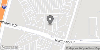Map of 300 Northpark Drive in Kingwood