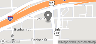 Map of 1533 N. Wayside Dr in Houston