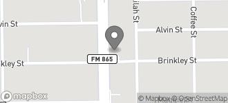 Map of 8841 Cullen Blvd in Houston