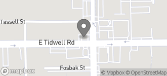 Map of 925 E. Tidwell in Houston