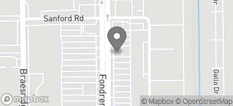 Map of 11121 Fondren Rd in Houston