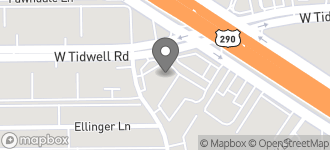 Map of 7895 A West Tidwell Road in Houston
