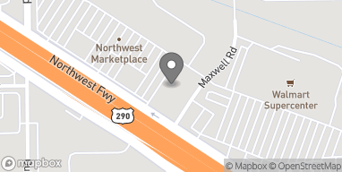Mapa de 13722 Northwest Freeway en Houston