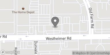 Mapa de 8350 Westheimer Rd en Houston