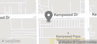 Map of 9481 Kempwood Dr in Houston