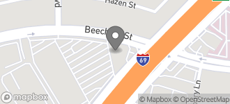 Map of 8015 Beechnut in Houston