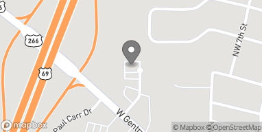 Map of 111 NW 9th St in Checotah