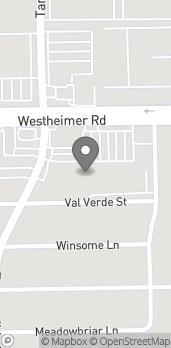 Mapa de 9527 Westheimer Rd en Houston