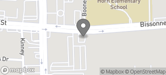 Map of 10803 Bissonnet in Houston