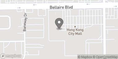Mapa de 11209 Bellaire Blvd en Houston