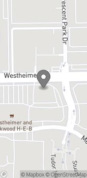 Mapa de 11805 Westheimer Rd en Houston
