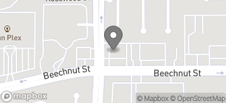 Map of 13548 Beechnut Street in Houston
