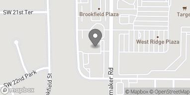 Map of 2201 Wanamaker Road in Topeka