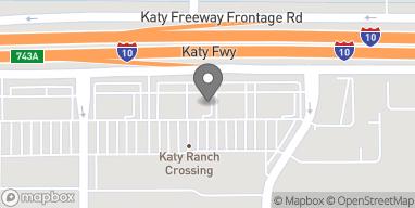 Map of 24441 Katy Freeway in Katy