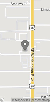 Map of 2125 SE Washington Blvd in Bartlesville