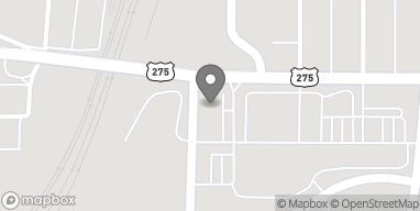 Map of 3575 L St in Omaha