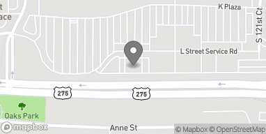 Map of 12414 L Street in Omaha