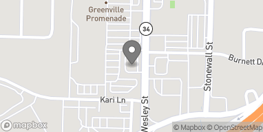 Map of 6906 Westley St. in Greenville