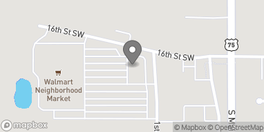 Map of 1607 1st Avenue SW in Sioux Center