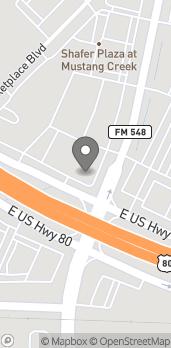 Mapa de 780 E Hwy 80 en Forney