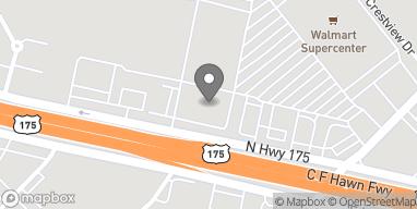 Mapa de 344 N Hwy 175 en Seagoville