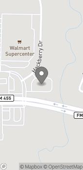Mapa de 2530 W White Street en Anna