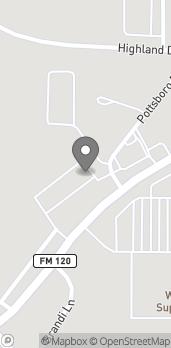 Mapa de 3515 W FM 120 en Denison
