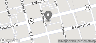 Map of 200 East Houston ST in Sherman