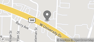 Map of 204 West University Drive in McKinney