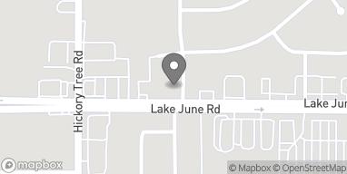 Mapa de 11939 Lake June Road en Balch Springs