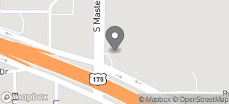 Map of 10201 C.F. Hawn Freeway in Dallas