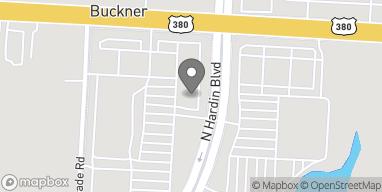 Mapa de 1801 N Hardin Blvd en McKinney