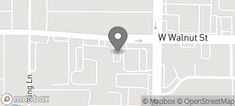 Map of 2520 West Walnut in Garland